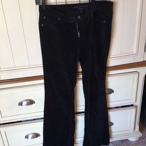 Ann Taylor Velvet Pants